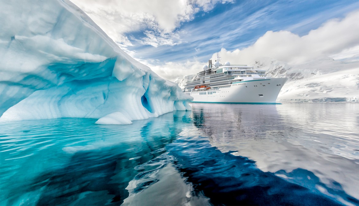 Crystal Expedition Cruises Endeavor starts sea trials