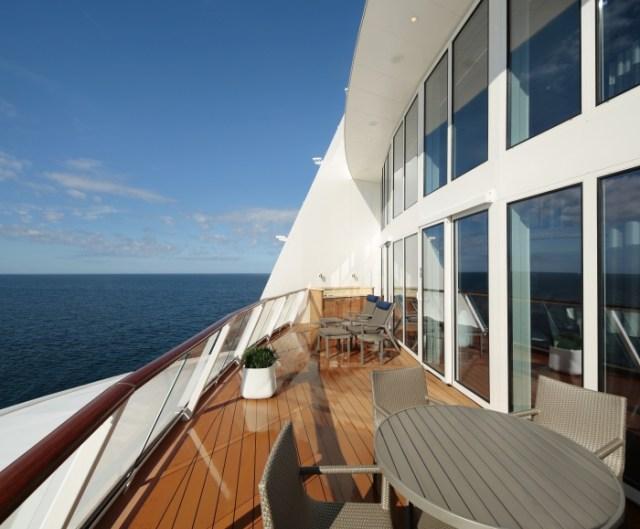 Royal Caribbean Anthem of the Seas Royal loft suite balcony