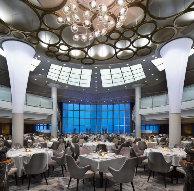 Celebrity Cruises Metropolitan restaurant