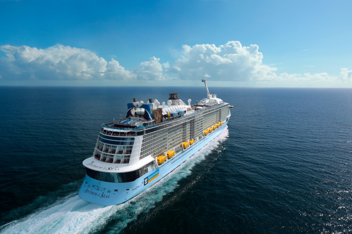 Royal Caribbean's Anthem of the Seas to sail for U.K. families July 2021