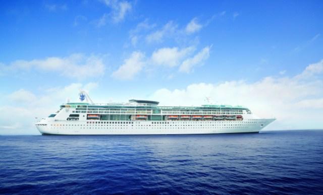 Royal Caribbean Grandeur of the Seas exterior bow