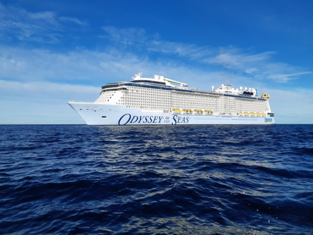 Royal Caribbean Odyssey of the Seas Starboard side