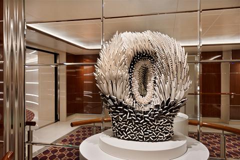 Seabourn Ovation cruise ship art