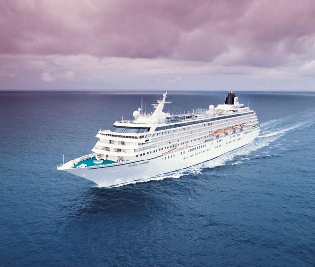 Crystal Cruises Symphony exterior