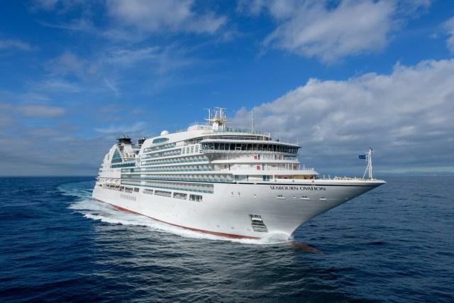 Seabourn Cruises Ovation cruise ship bow
