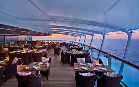Seabourn Ovation cruise ship Colonnade