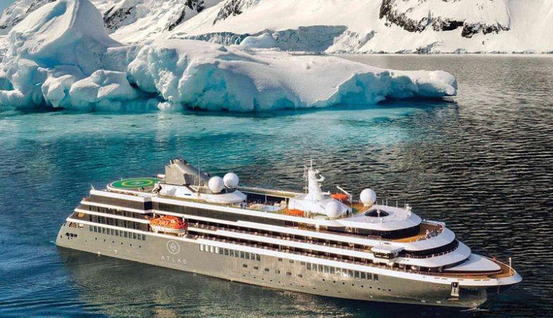 Atlas Ocean Voyages World Navigator in Antarctica