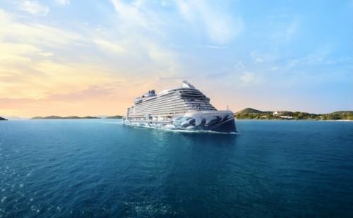 norwegian cruise line norwegianprima aerial