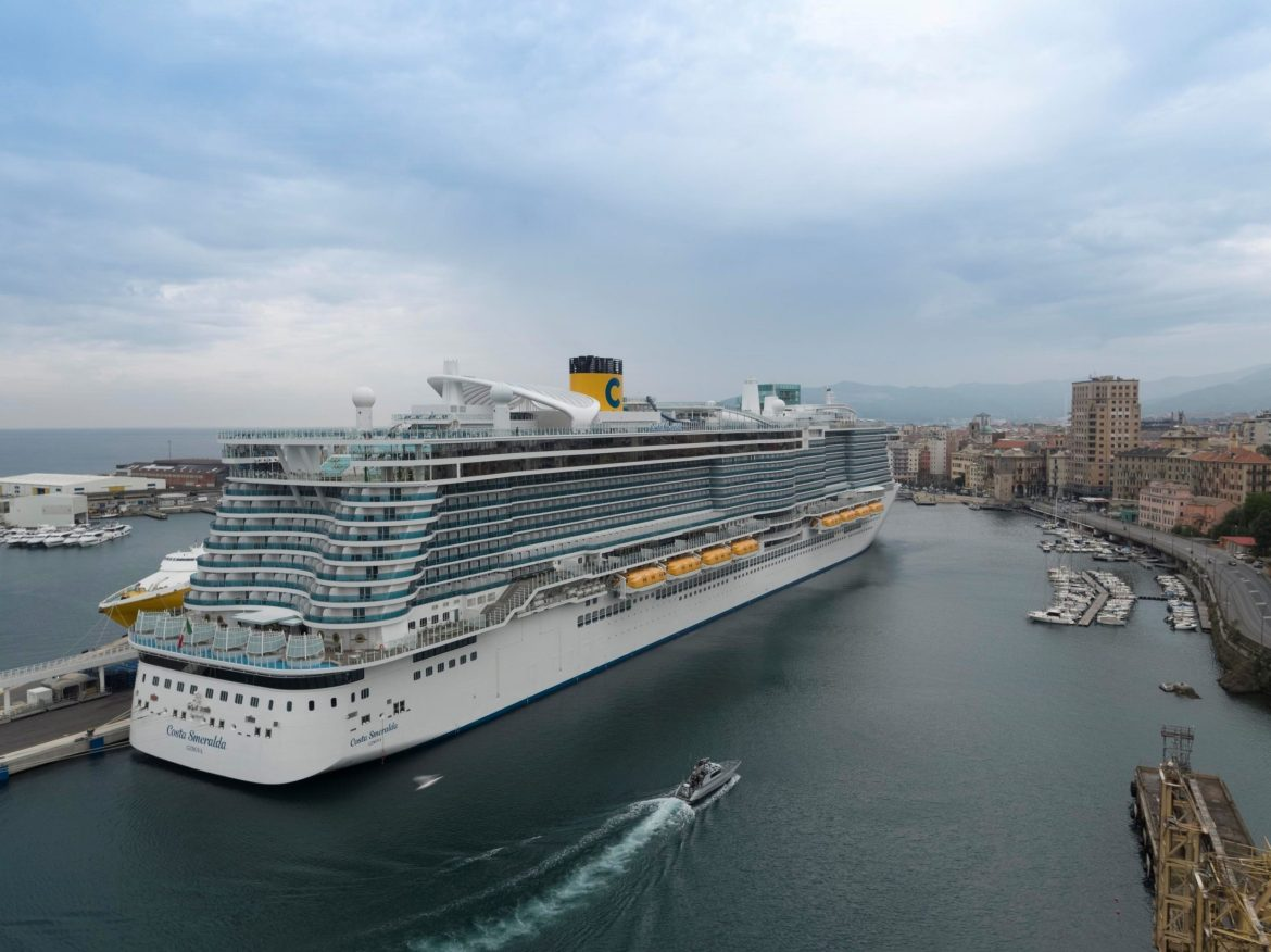 Costa Cruises Smeralda the first of four Costa ships to resume in the Mediterranean
