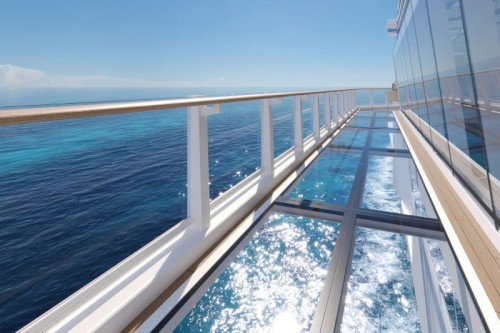 Norwegian cruise line norwegianprima oceanboulevard oceanwalk rendering