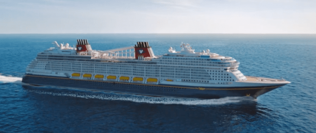 Disney Cruise Line Wish cruise ship exterior