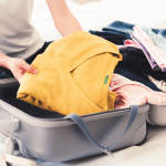 Pack for a Greek Isles cruise suitcase