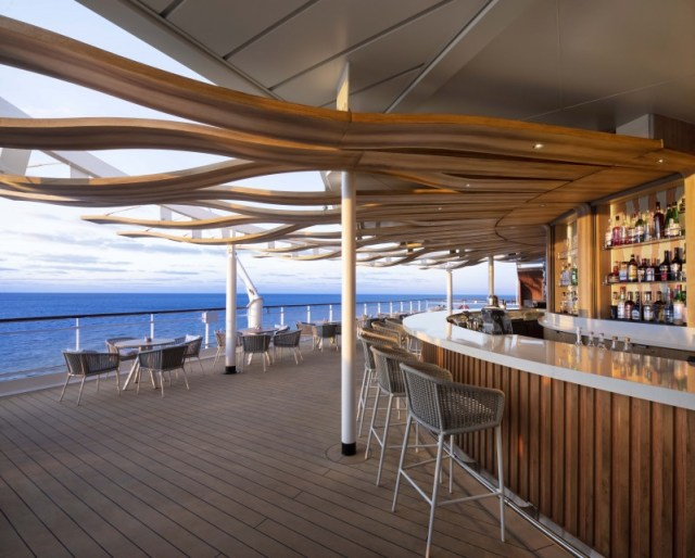 Celebrity Cruises sunset bar