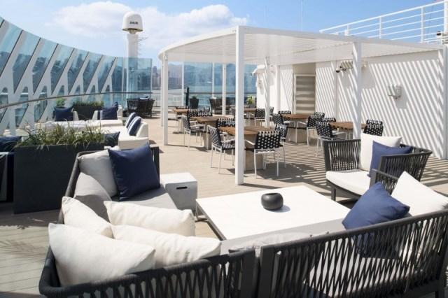 Celebrity Cruises Retreat sun deck