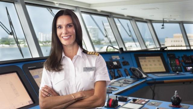 Celebrity Cruises Edge captain kate mccue