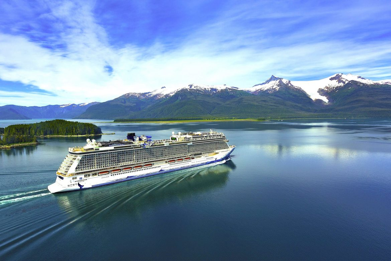 Norwegian Bliss cruising to Alaska August 2021