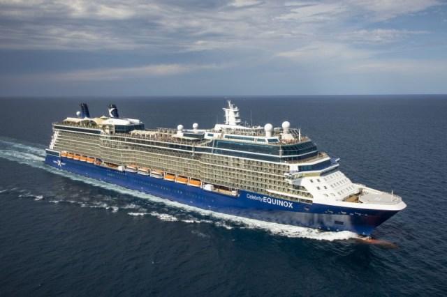 Celebrity Cruises Equinox aerial exterior