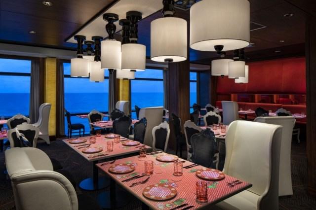 Celebrity Cruises Equinox restaurant