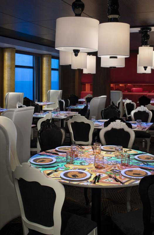 Celebrity Cruises Equinox dining