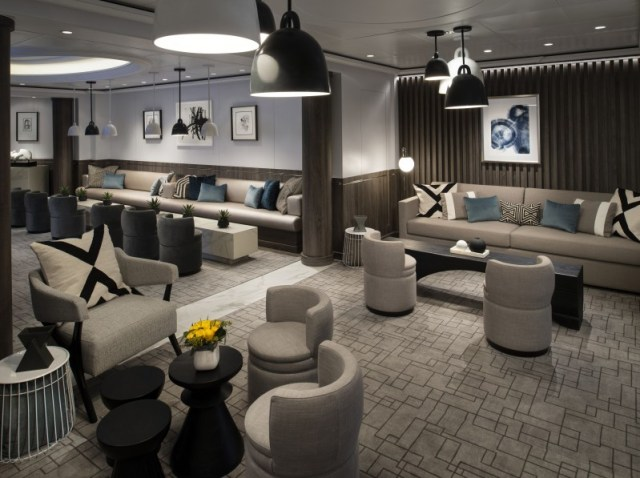 Celebrity Cruises Equinox lounging area