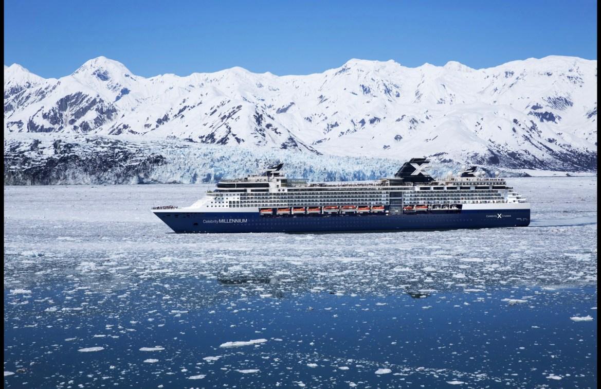 Celebrity Millennium set sail from Seattle to Alaska