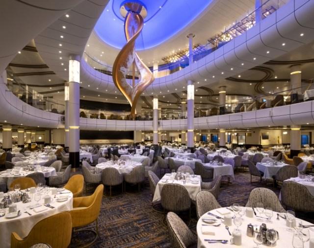 Royal Caribbean Spectrum of the Seas dining room