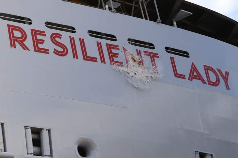 Virgin Voyages Valiant Lady was delivered and Resilient Lady floated out