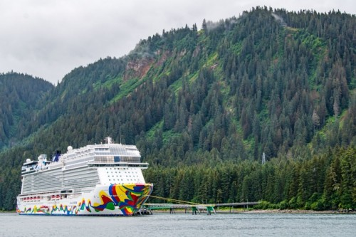 Norwegian Cruise Line Encore in Alaska