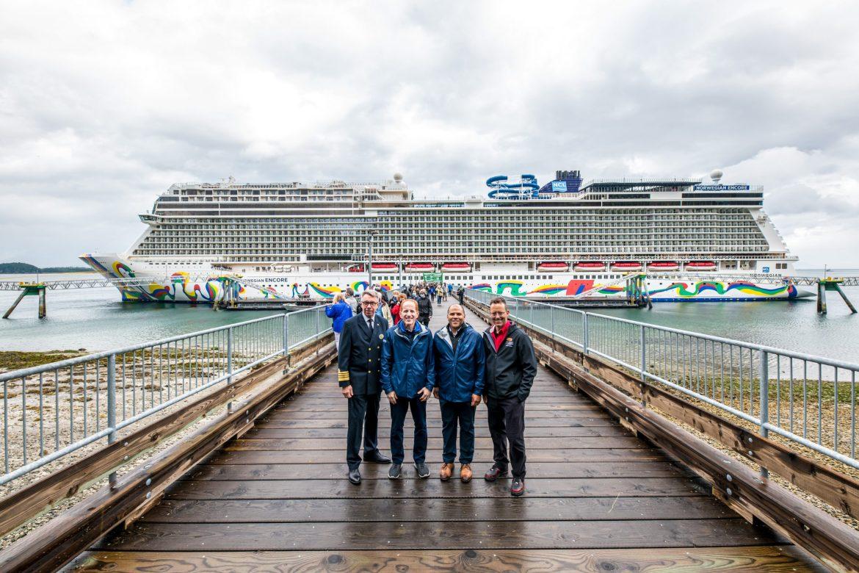 Norwegian Encore cruises to Alaska