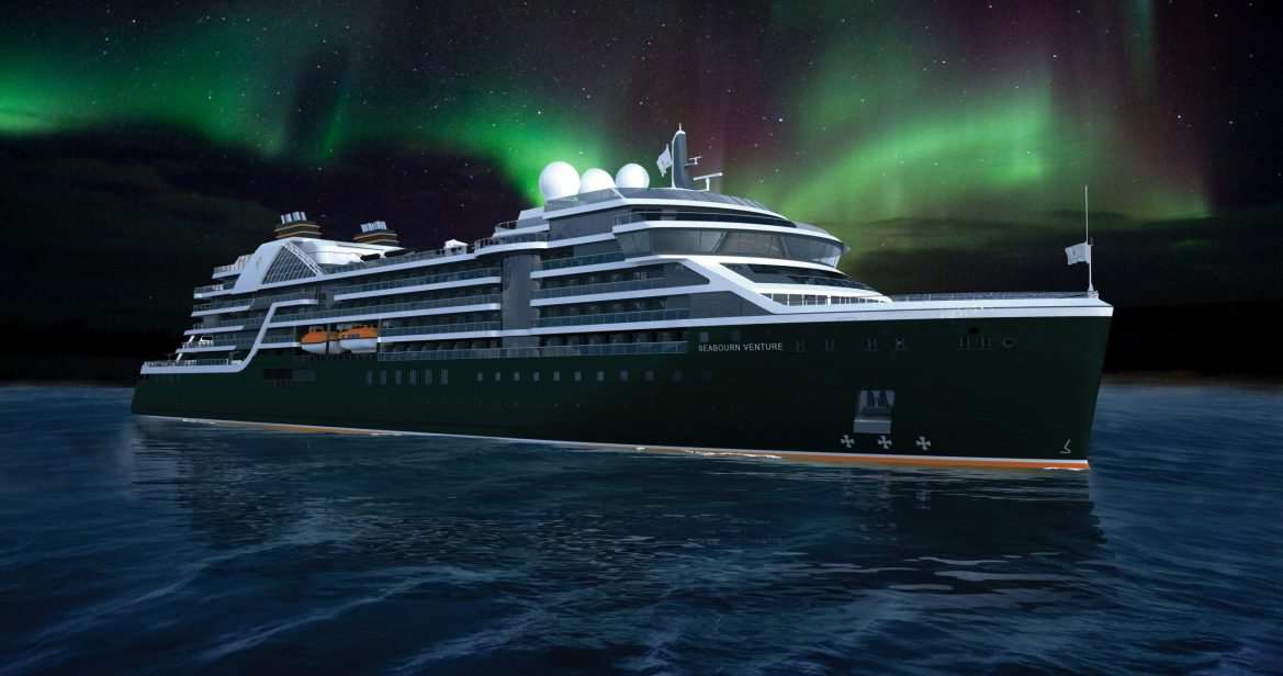 Seabourn Venture ultra-luxury expedition ship will depart from UK on April 10, 2022