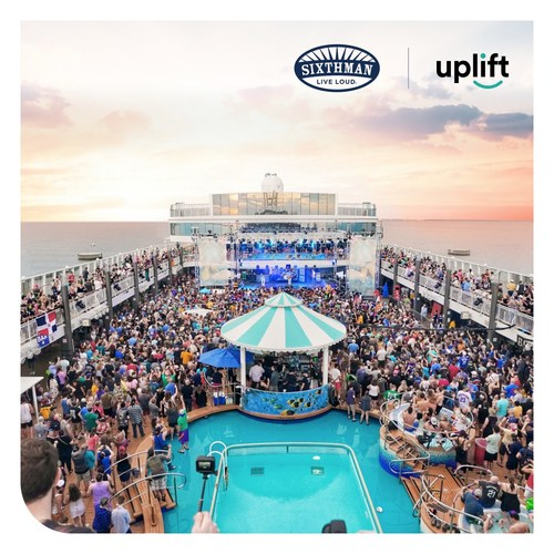 Uplift has partnered with Sixthman who offer music and lifestyle festivals at sea