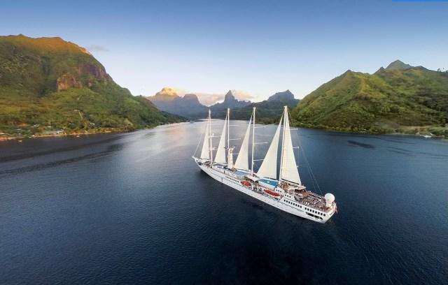 Windstar Cruises small ships yachts