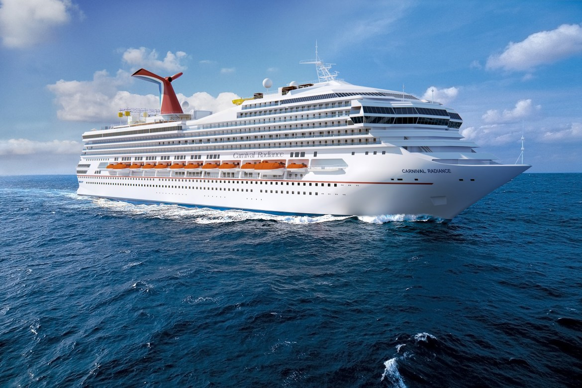 Carnival Cruise Line Victory gets $200 million reno and new name Carnival Radiance