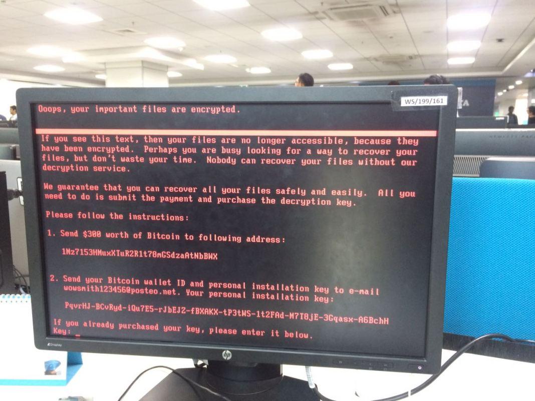 petya ransomware - Just Like Wannacry, Petya Ransomware Is Spreading Worldwide