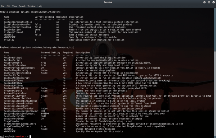 List Of Metasploit Commands10 - List of Metasploit Commands - The Cheatsheet