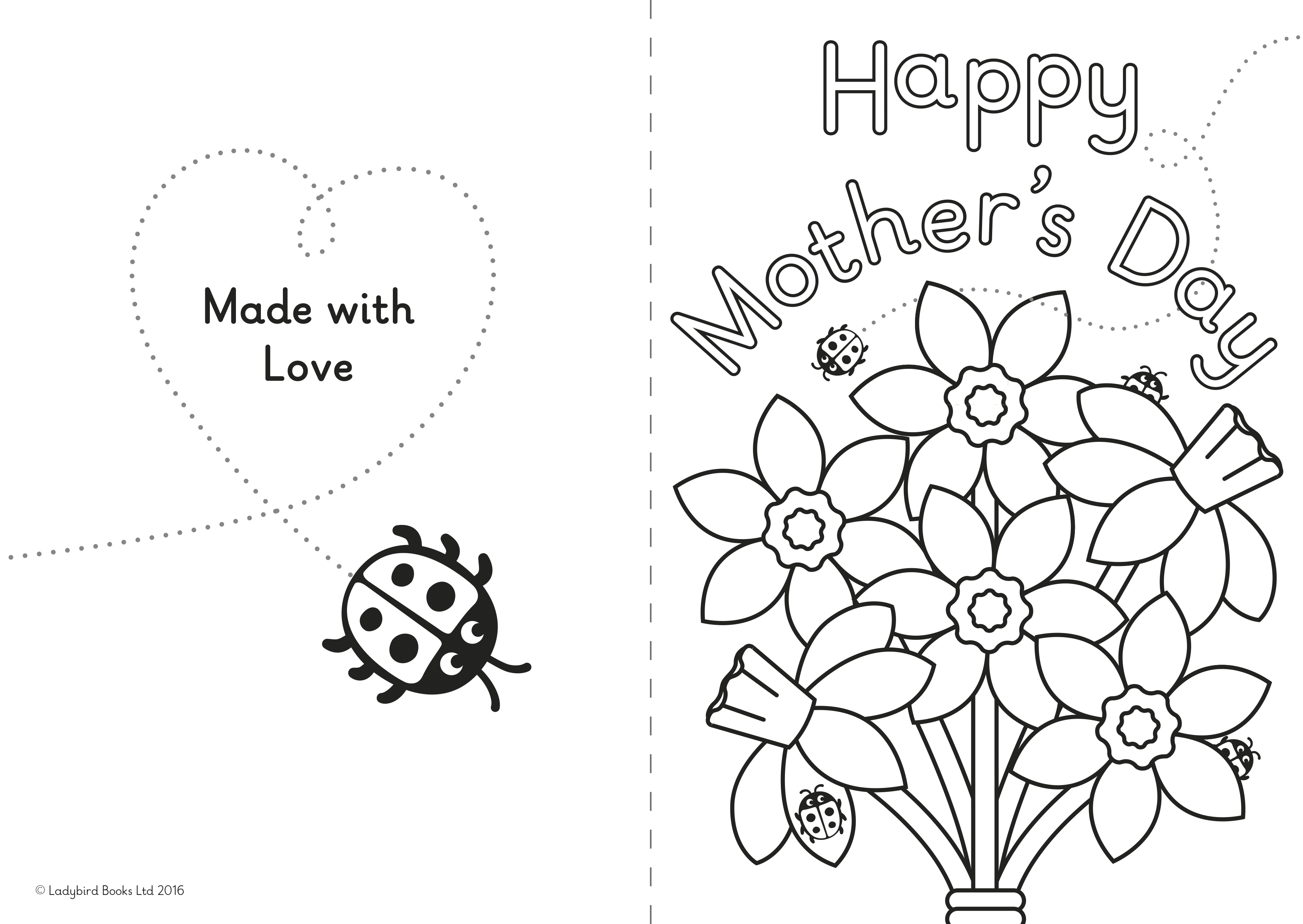 A Diy Mother S Day Card For Little Ones Ladybird Blog