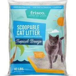 Frisco Tropical Breeze Scent Multi-Cat Clumping Cat Litter