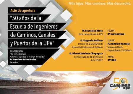 50 años Caminos UPV