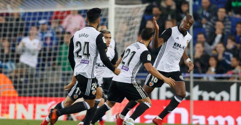 Gol Kondogbia Espanyol - Valencia