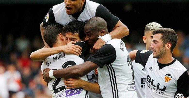 Valencia CF gol al Leganés