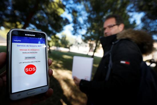 Un móvil sin cobertura puede salvar vidas gracias a una innovadora app española