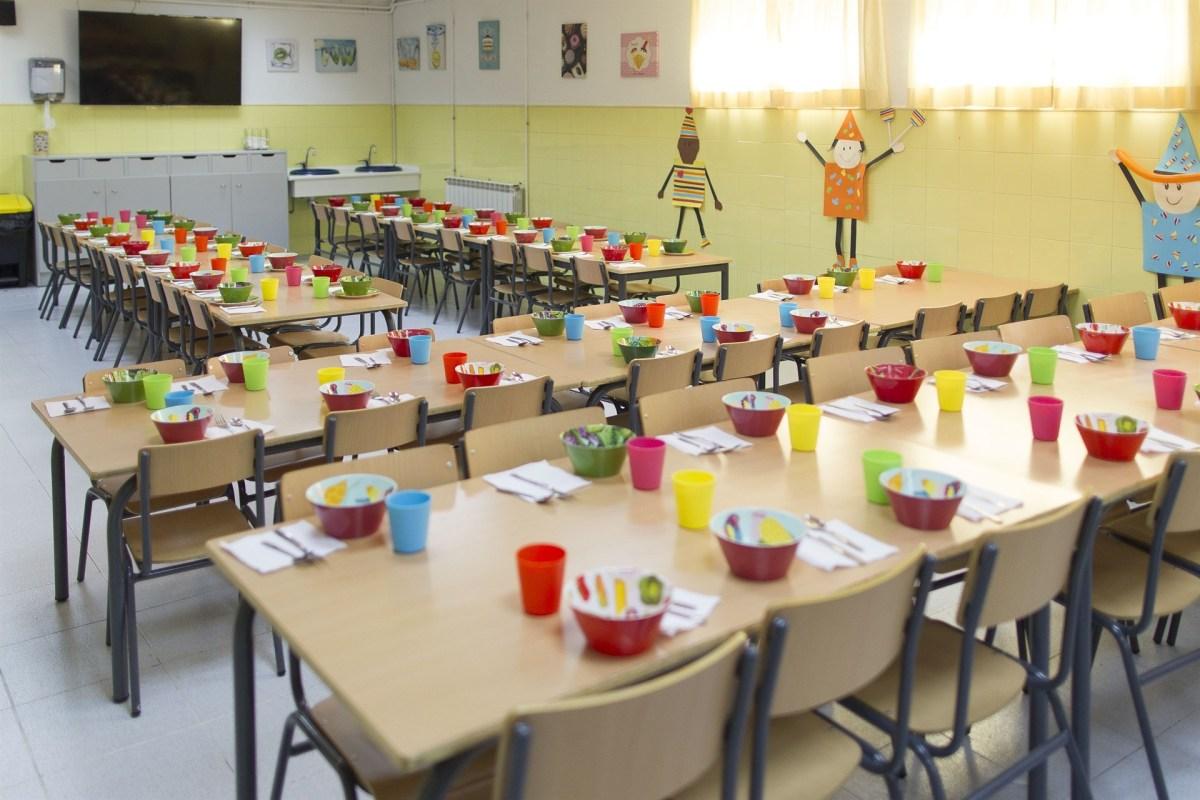 València abre el plazo para solicitar las becas comedor para el próximo curso escolar