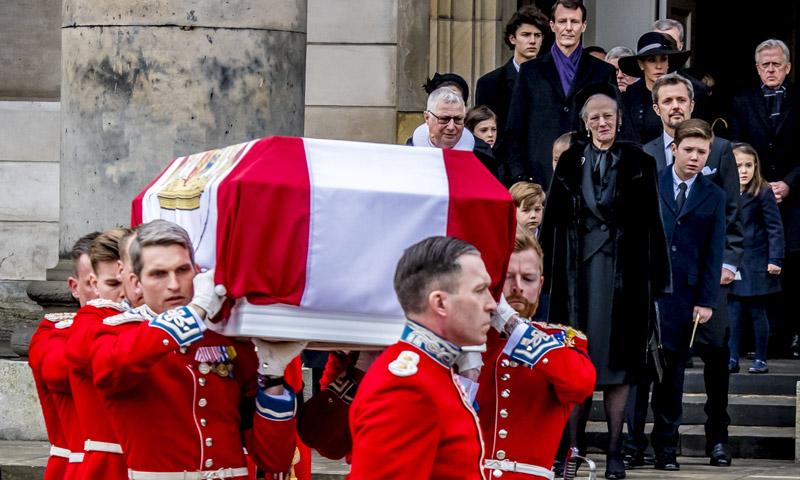 La Familia Real de Dinamarca vuelve a estar de luto