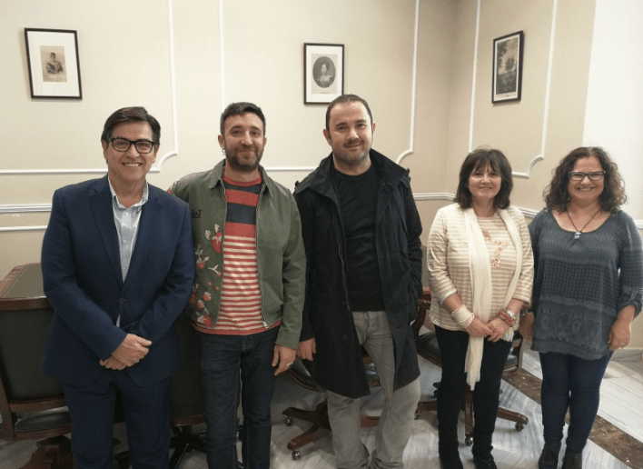 Jurado encargado de elegir la falla grande municipal 2018