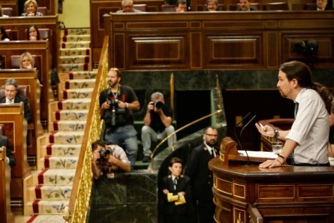 'Un tiro por la culata para Iglesias en el Congreso', por José Antonio Sorzano