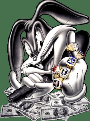Bugs Bunny Gangsta Psd Official Psds
