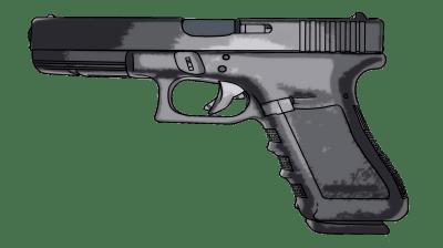 Glock 17 9mm Hand Gun (PNG) | Official PSDs