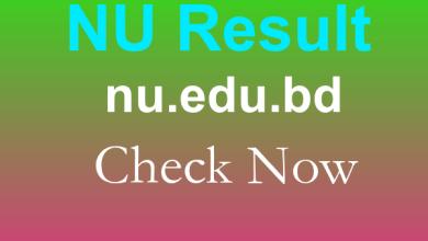NU Result 2019