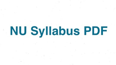 NU Syllabus 2021 - Honours 1st Year PDF Download All Subjects