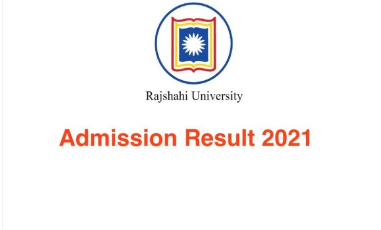 RU Admission Result 2021 Www.ru.ac.bd Result 2021